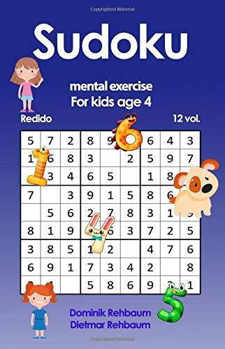 Redido Sudoku for kids age 4 Volume 12