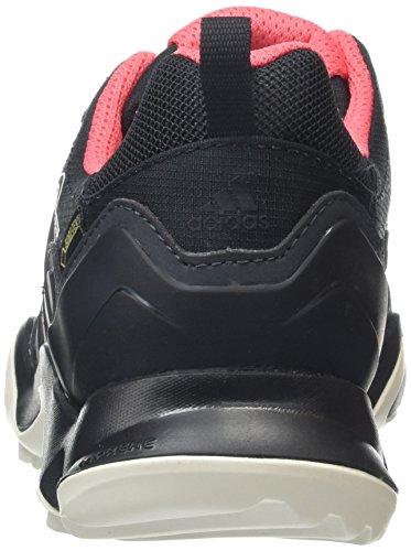 adidas Terrex Swift R Gtx, Chaussures de Trekking et Randonn&EacuteE Femme Gris (Dark Grey/Core Black/Super Blush S16)