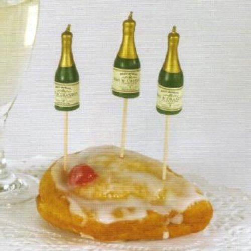 Partykerzen auf Picker: Champagner Flasche