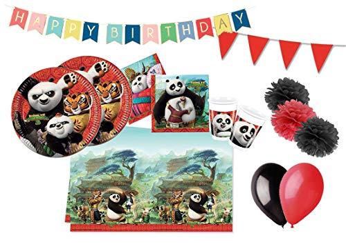 DECORATA PARTY Koordinierter Geburtstag Kung Fu Panda Po Dragon Warrior kit 46f (Er Letzte Krieger)