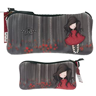 Gorjuss Neoprene Accessory Case/Pencil Case – Poppy Wood