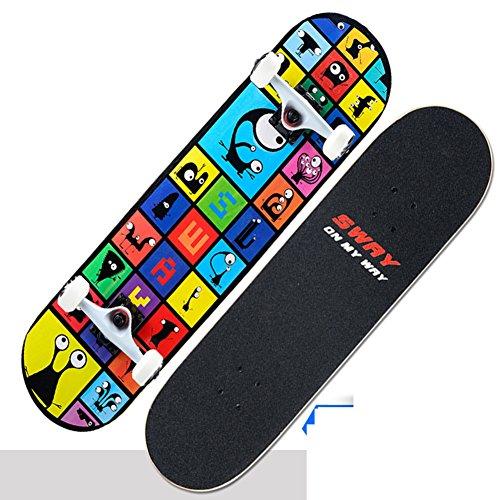 four-wheeled-skateboard-double-rocker-adult-highway-brush-street-skateboarding-children4wheel-skateb