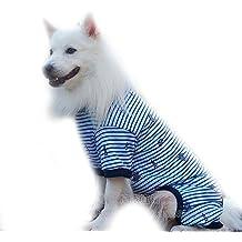 Chaleco grande para perro Labrador con capucha para ropa de algodón con chaqueta de pijama para perro Golden Retriever para perro grande