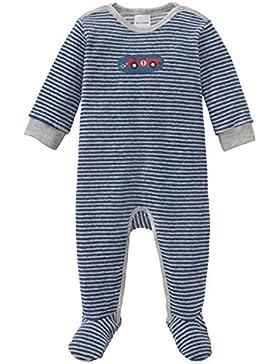 Schiesser Jungen Zweiteiliger Schlafanzug Grand Prix Baby Anzug mit Fuß