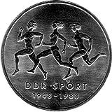Münze 10 Mark Gedenkmünze 40 Jahre Sportbund, DDR 1988 A (Jäger: 1623) Stempelglanz, Kupfernickelzink