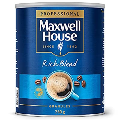 Maxwell House Instant Coffee Granules Rich Blend Tin 750g Ref A07651 from Maxwell House