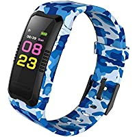 sunnymi Smart Watch Multifunctional Adult Boys And Girls Student Children's Electronic Watches, Outdoor Watches, Cycling Watches Sport GPS Heart Rate Blood Pressure Bluetooth
