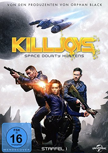 Killjoys - Space Bounty Hunters: Staffel 1 (3 DVDs)