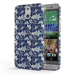Koveru Designer Printed Protective Snap-On Durable Plastic Back Shell Case Cover for HTC One E8 - Mayan textile pattern