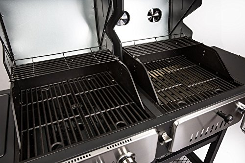 Gas Oder Holzkohlegrill Price : Weber grill gasgrill genesis ii lx s gbs stainless steel