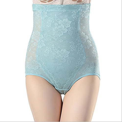 Fzmix New Women'S Fashion Body Shaper Tight Shorts Waist Cincher Slimming Underwear Green