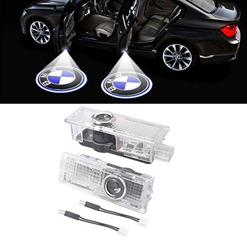 2 Stück Autotür Logo Projektion Licht Türbeleuchtung Willkommen Licht Eingang Projektor Licht