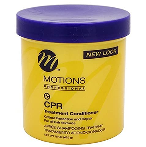 MOTIONS PROFESSIONAL CPR TREATMENT CONDITIONER 15oz ALL HAIR TEXTURES 444 ml by Motions (English Manual)