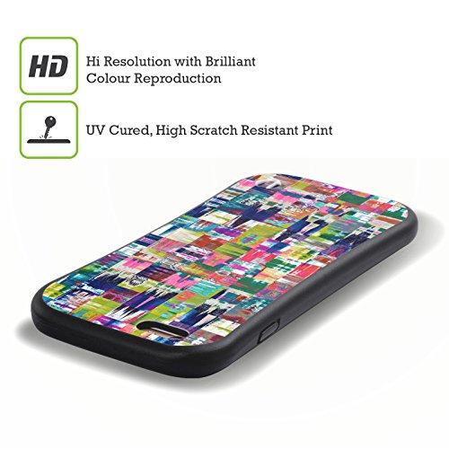 Ufficiale Shelly Bremmer Inclinato Astratto E Vivido Case Ibrida per Apple iPhone 7 / iPhone 8 Cambiamento