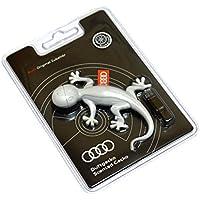 Ambientador de coche original de Audi, olor a naranja, color gris oscuro