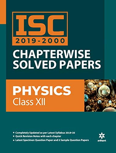 ISC Chapterwise Solved Papers Physics class 12th