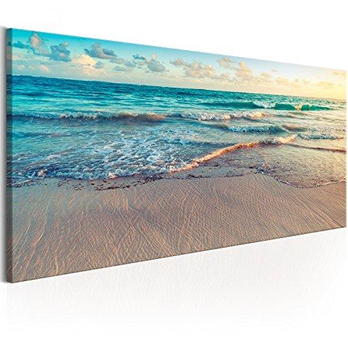 Murando Cuadro Lienzo Playa Mar 120x40 cm 1 Parte