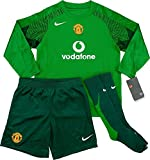 MANCHESTER UNITED GOALKEEPER KIT NIKE MINI KIT 2005 SEASON