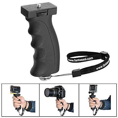 Fantaseal® DSLR Caméra Grip Poignée Stabilisateur Ergonomique Sport Caméra Support