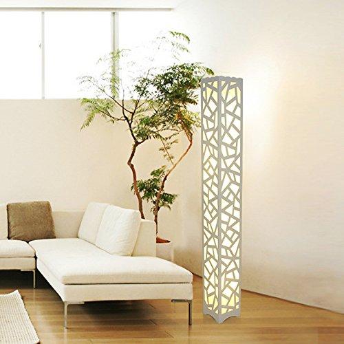 luci decorative creativo 1200MM lampada da terra vuoto creativo di studio camera da letto lampada da terra scolpito moderni