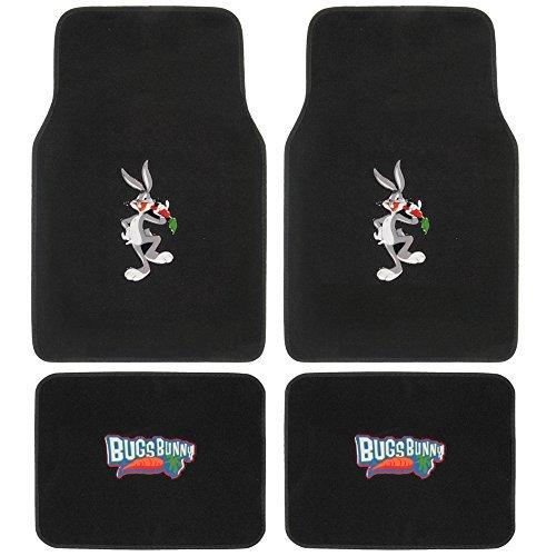 warner-brothers-bugs-bunny-carpet-floor-mats-for-car-universal-fit-looney-tunes-cartoon-design-auto-