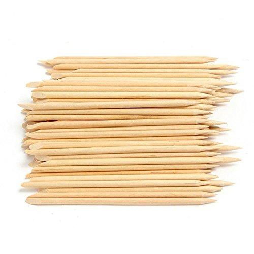 Blue Vessel Nail Orange Holz-Stick Häutchenschieber Schieben