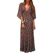 Robe longue hippie chic grande taille