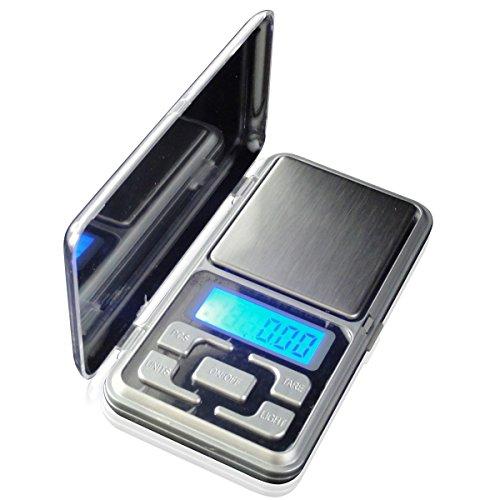 LUPO Taschenwaagen TaschenwaagenDigital 500g x 0,1g Goldschmuck Elektronische