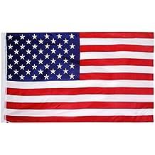 Americano EE.UU. Nosotros Bandera Bandera Grande 150 * 90cm / 5 * 3 Pies