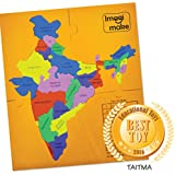 Imagimake Mapology States of India Map Puzzle Educational Toy