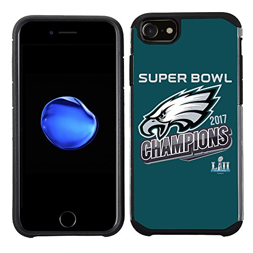 Prime Marken Gruppe iPhone 8/7//6S/6 - Handy Fall - NFL Lizenzprodukt Philadelphia Eagles III Super Bowl Champions Champions-handy-fall