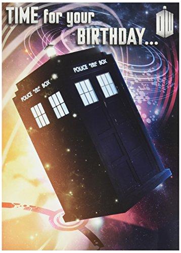 s - Matt Smith Geburtstagsklangkarte (Doctor Who Party Supplies)