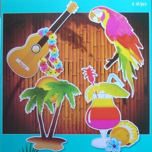 Hawaii-Dekoration (Party Dekorationen Karneval)