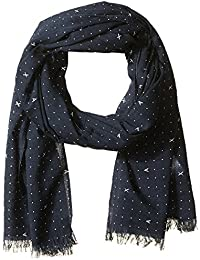 Armani Exchange Men's Ax Dot Print Light Weight Scarf