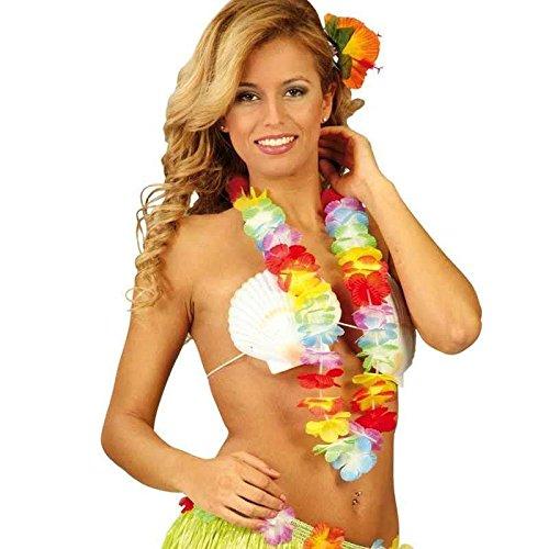 Guirca Fiestas gui18324-Collares, 6,5cm de Hawai Multicolor