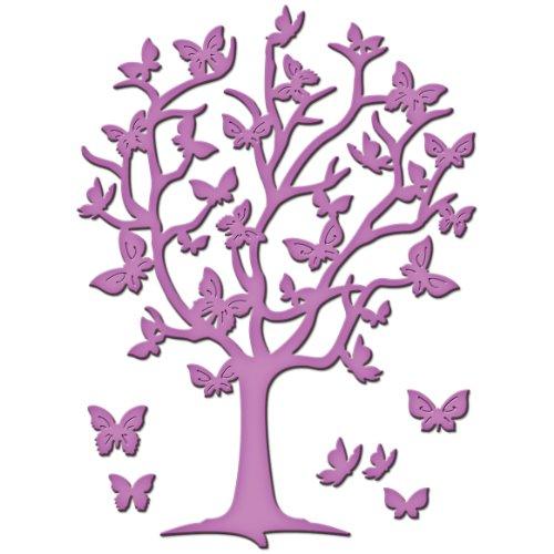 Flutter Butterfly Garden (Unbekannt Spellbinders D-Lites Schmetterlingbaum, Metal, braun, 15.2 x 8.9 x 0.2 cm)