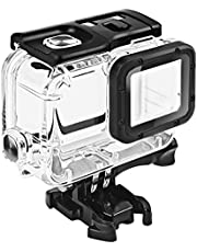 Lukovee Waterproof Housing for GoPro Hero 2018/7/6/5 Black, Protective 45m Underwater Dive Case Shell with Bracket Accessories for Go Pro Hero7 Hero6 Hero5 Action Camera