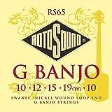 Rotosound Swanee Jeu de 5 cordes pour banjo Nickel (Import Royaume Uni)