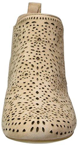 Caprice 25300, Bottes Chelsea Femme Beige (Beige Suede)