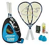 Speedminton Set S200 im Back Pack Modell 2014 Inklusive 8 Cones, 400082