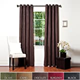 Best Home Fashion Thermal Insulated Faux Suede Blackout Curtains - Antique Bronze Grommet - Best Reviews Guide