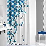 Sealskin 235231324 Duschvorhang-Tangram, Textil, 180 x 200 cm