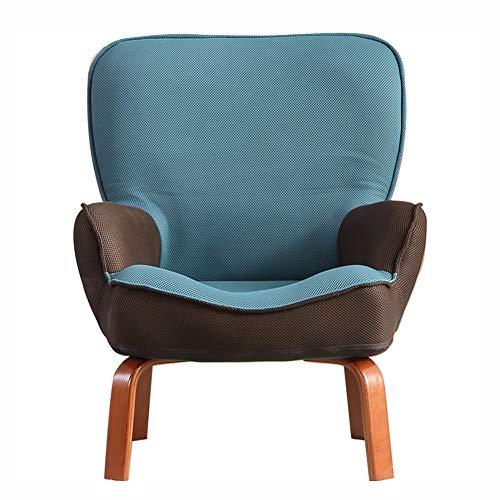 Sitzsäcke Kinder Recliner gepolsterte Rückenlehne, Mini kleine kleine Recliner Sofa Stuhl für Baby Kleinkind Jungen Mädchen Kinder (Farbe : Blau) (Kleinkind-mädchen-recliner-stuhl)