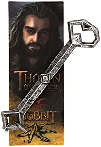 The Noble Collection El Señor de los Anillos: Pluma y Marcador Clave de Thorin
