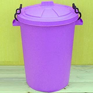 Lilac 50 Litre Bin/Storage For Homes Gardens Animal Feed (Make In The UK)