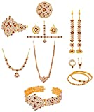 UG PRODUCTS Gold Plated Jewellery Set fo...