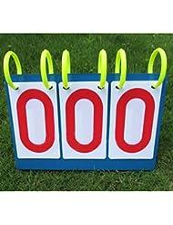 Marcadores de la competición de los deportes Multifunctional Tablero de la cuenta del dígito doble