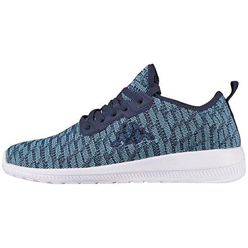 Kappa Damen Gizeh Sneaker, Türkis (Mint/Navy), 39 EU