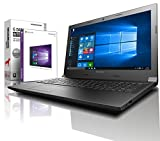 Lenovo (15,6 Zoll) Notebook (Intel N3350 Dual Core 2x2.40 GHz, 8GB RAM, 640GB S-ATA HDD, DVD±RW, Intel HD 505, HDMI, Webcam, Bluetooth, USB 3.0, WLAN, Windows 10 Prof. 64 Bit) #5381