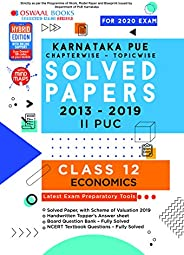 Oswaal Karnataka PUE Solved Papers II PUC Economics Book Chapterwise & Topicwise (For March 2020 E